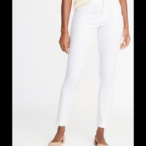 Mid rise pixie ankle chino pants Old Navy